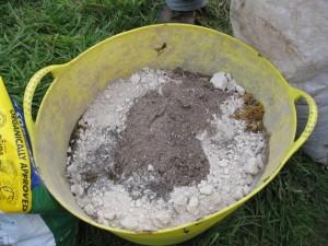 root paste mix