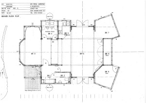 AH ground floor plan