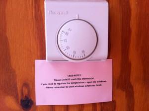 AH thermostat